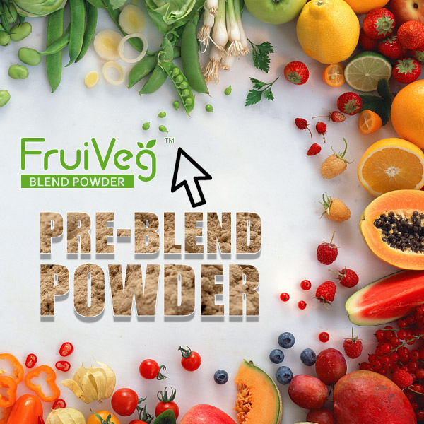 FruiVeg® Pre-blend Powder